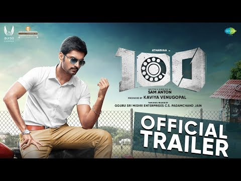 100 | Official Trailer | Atharvaa | Hansika Motwani | Sam Anton | Sam CS | Auraa Cinemas