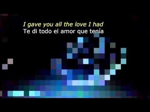 LENNY KRAVITZ - The Chamber [HQ + EN/ES Lyrics]