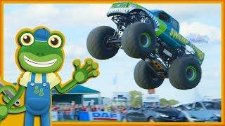 Monster Trucks For Children | Gecko's Real Vehicles