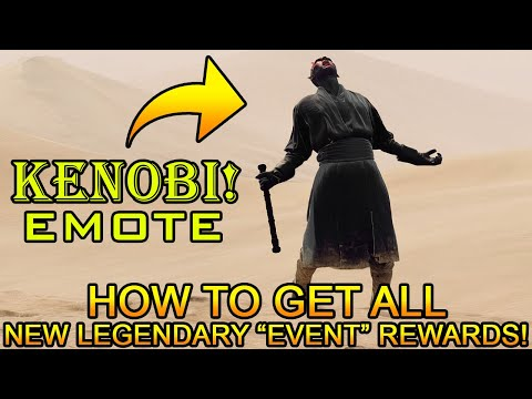 How To Get All New Legendary Rewards! (Emotes, Voice Lines, And Victory Poses) - Battlefront 2