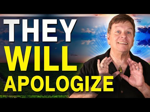 How To Make Someone Apologize - Law of Attraction Manifest Forgiveness