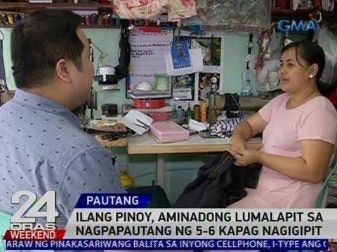 24 Oras: Ilang Pinoy, aminadong lumalapit sa nagpapautang ng 5-6 kapag nagigipit