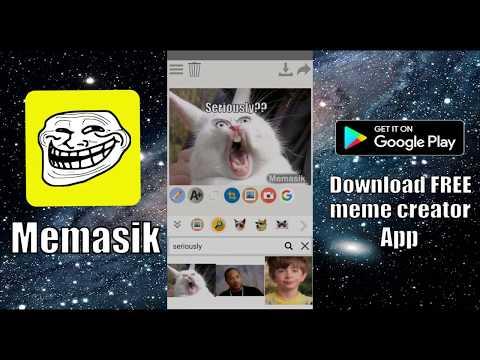 Memasik - Free Meme Creator App