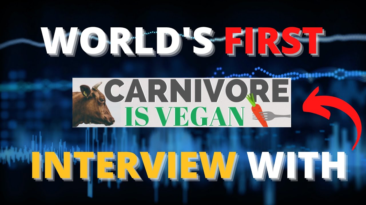 World's FIRST Interview with Carnivore is vegan | Why vegan diet may not be best for animals&planet