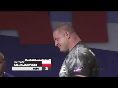 Mateusz Kieliszkowski Arnold Strongman Classic 2019 - 3rd Place