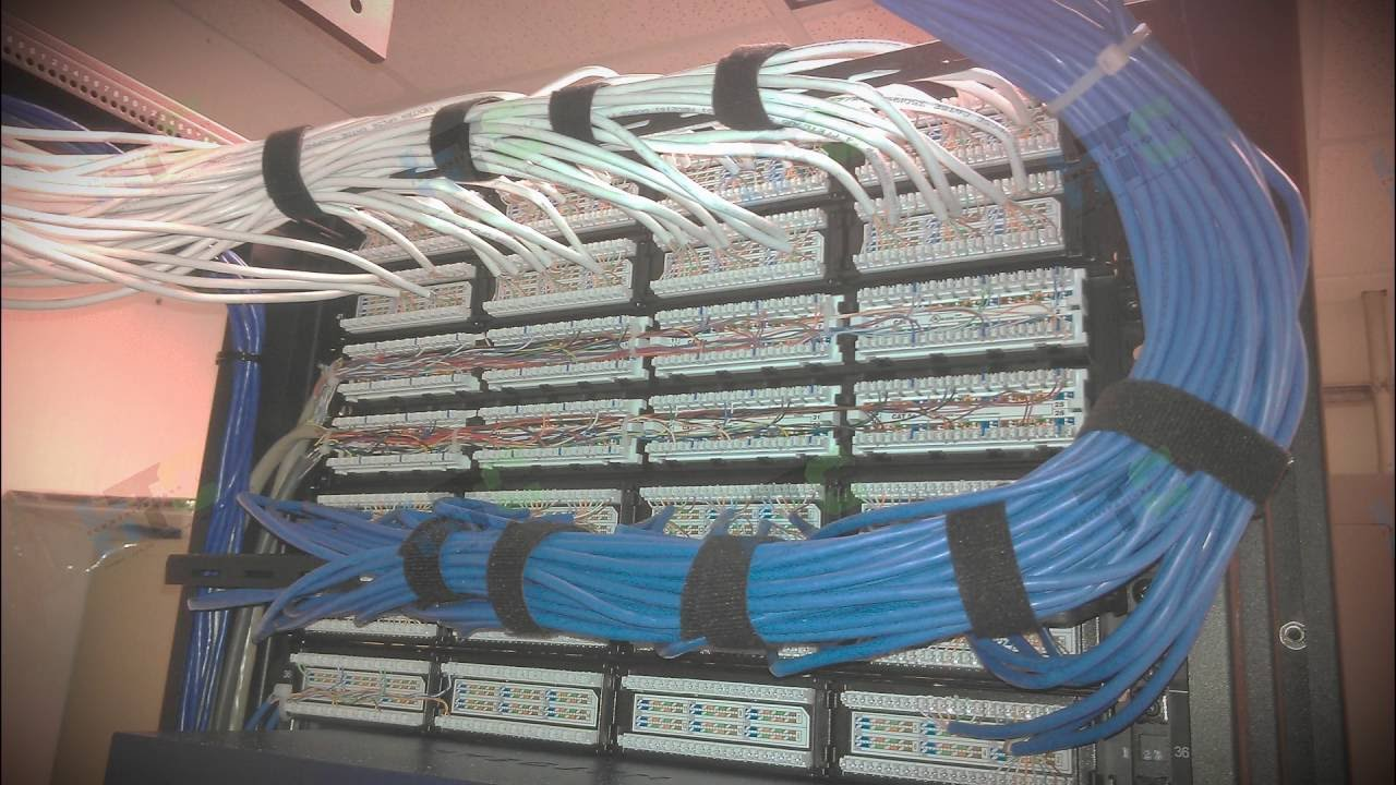 structured network cabling ohio www htcohio com [ 1280 x 720 Pixel ]