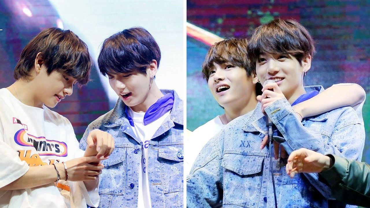 Don T Fall In Love With Taekook 뷔국 Bts Challenge Youtube