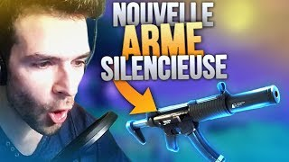 🥇 JE TEST LA NOUVELLE ARME SILENCIEUSE + Top1 ! (Fortnite Battle Royale FR)