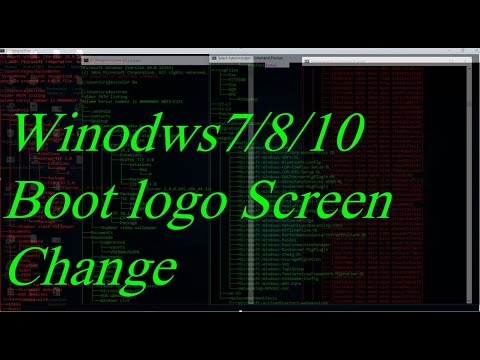 Windows boot logo change