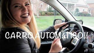 Dirigindo um carro  automático!! Bruna Freitas