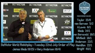 BetVictor Blackpool Backchat Tuesday 23rd - Rod Harrington talks to Charlie McCann