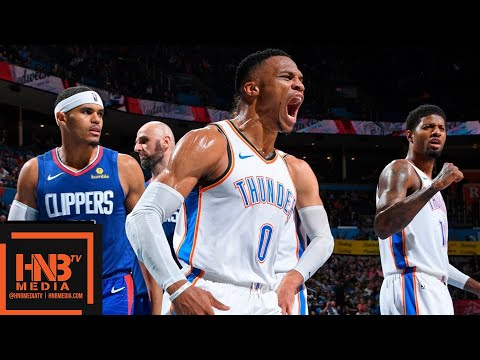 Oklahoma City Thunder vs LA Clippers Full Game Highlights |