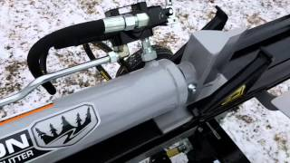 Forest King pro 30 ton log splitter review