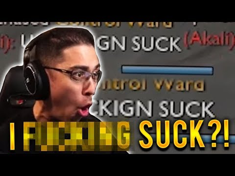 GAREN TOP VS AKALI | SHE SAID I F%$#NG SUCK?!!?? - Trick2G