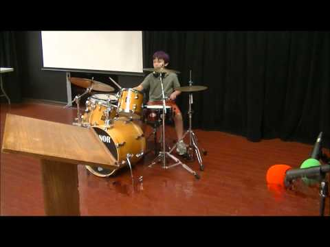 My First Talent Show @ Sacramento Country Day School - ZanderDrummer15