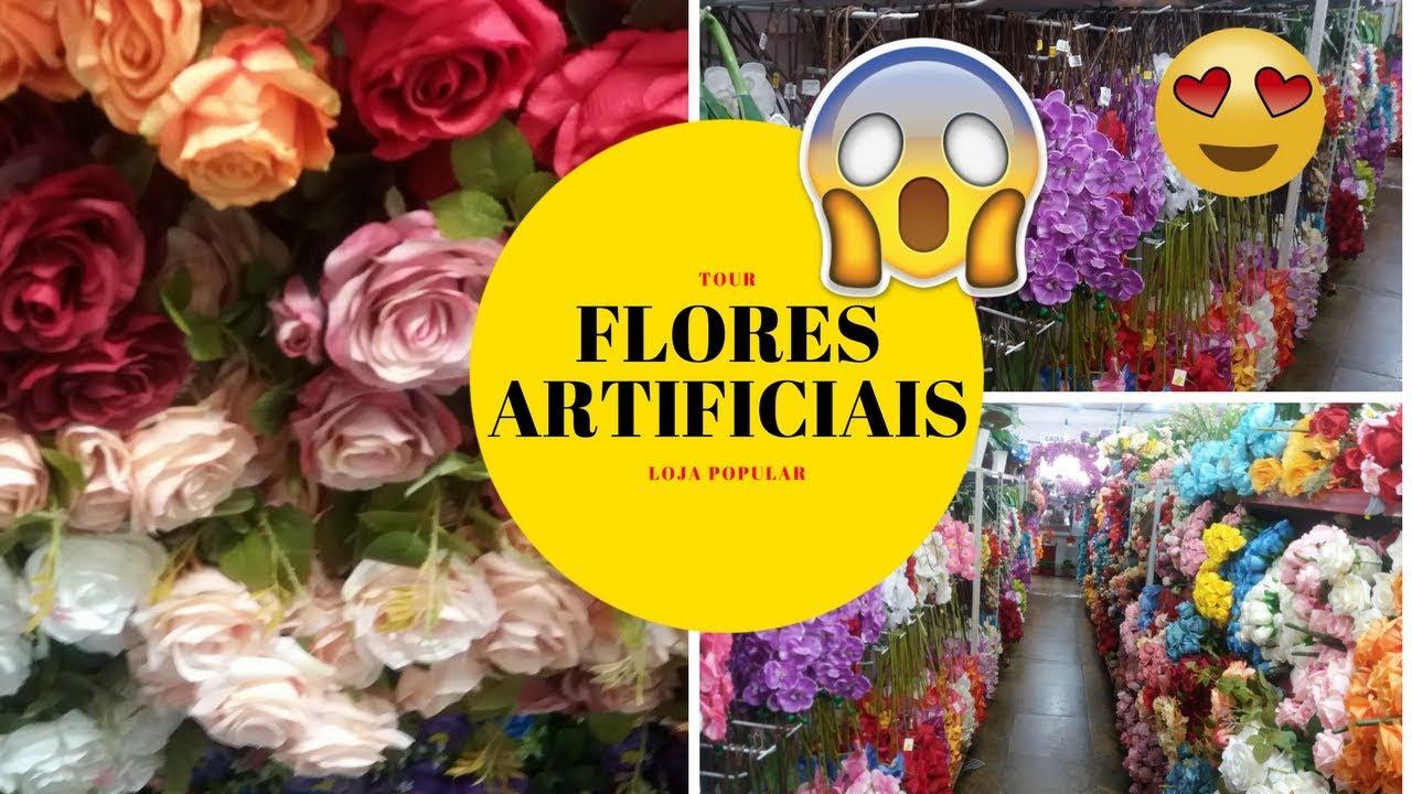 6771a66b9 TOUR DE FLORES ARTIFICIAIS DE LOJAS POPULARES - YouTube