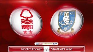 Nottingham Forest vs Sheffeild Wednesday Vlog!! WE GOT SMASHED!!