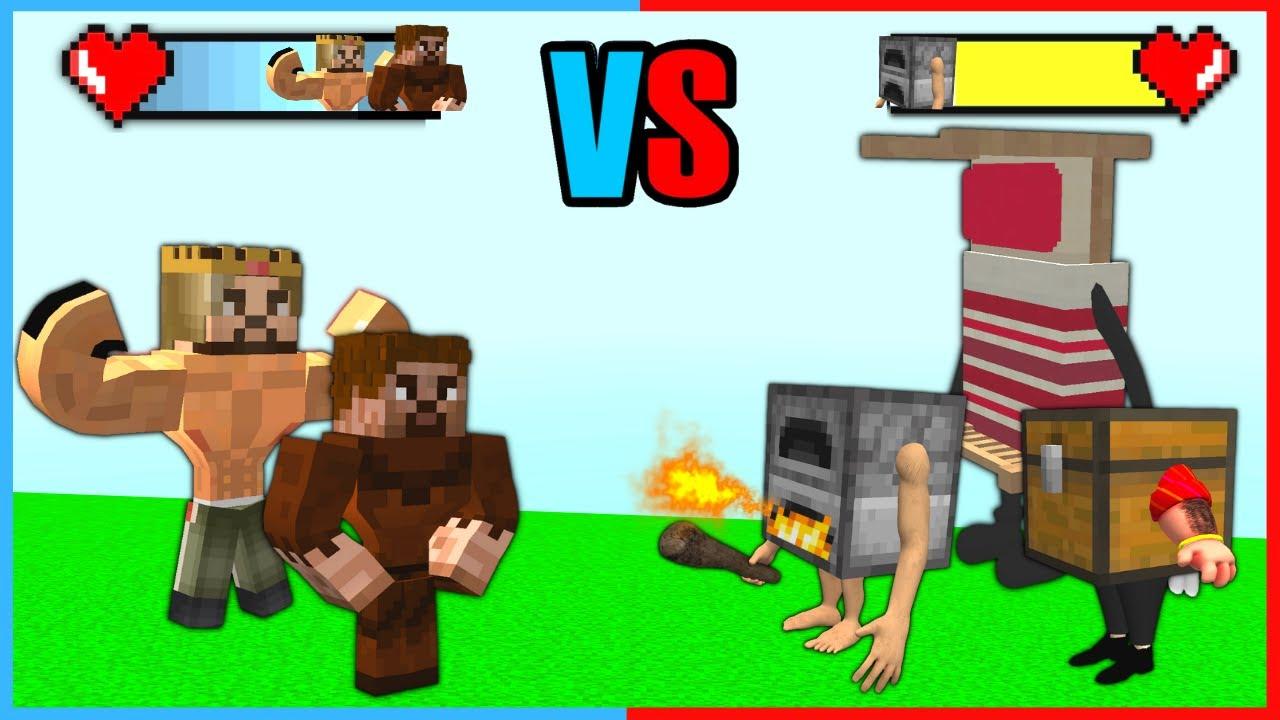 KASLI ARDA, RÜZGAR VS KORKUNÇ EŞYA ÇETESİ! 😱 - Minecraft