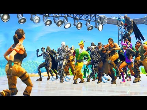 when 100 people default dance