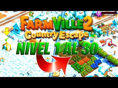 FARMVILLE 2 Country Escape Timelapse Nivel 1 Al 30