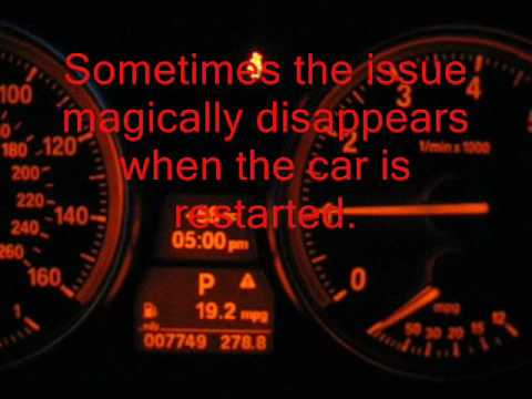 E90 Warning Light Youtube