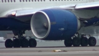 "GE90 Engine Intake Mist On Takeoff. "" What Causes This Mist ? """