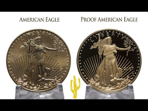 American Eagle Gold Proof Coin Vs. American Eagle Gold Bullion Coin