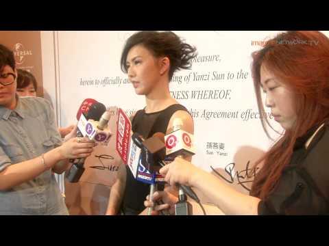 Interview with Stefanie Sun 孫燕姿回歸樂壇媒體訪問