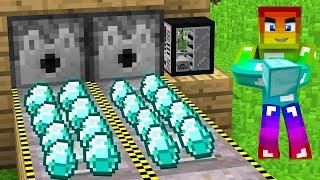 Nhà Máy Sản Xuất Kim Cương Minecraft ??