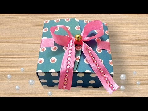 Diy Projects How To Make Cute Diy Paper Diwali Gift Box