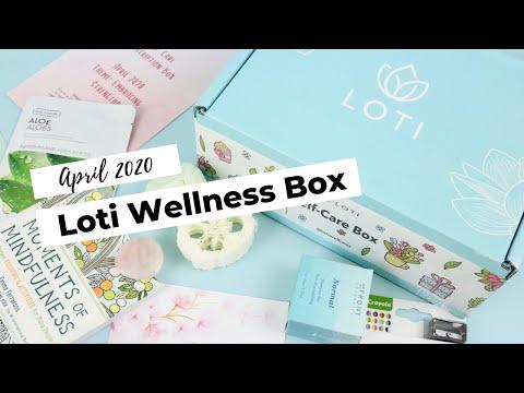 Loti Wellness Box Unboxing April 2020: Wellness Subscription Box