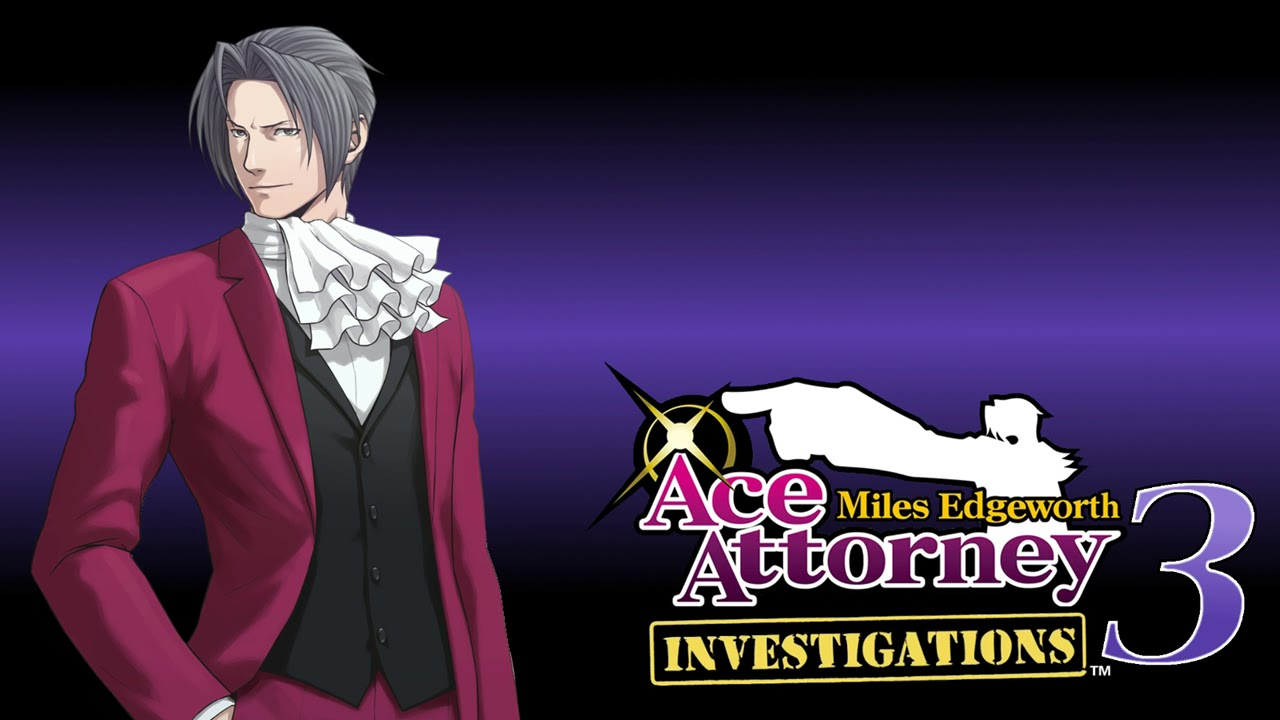 Miles Edgeworth Objection 2018 Ace Attorney Investigations 3