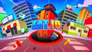 HOLE.IO - WORLD RECORD - TOP 1 - EAT.IO (HD)