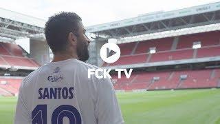 Michael Santos ny FCK-angriber: Se det første interview