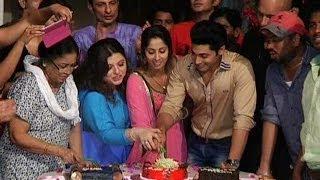 Kehta Hai Dil Jee Le Zara Cake Cutting Ceremony   Sangeeta Ghosh   Delnaaz Paul   Ruslaan Mumtaz