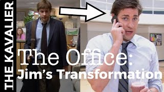 The Office: Jim's 9 Season Style Transformation | From Slob to Suave