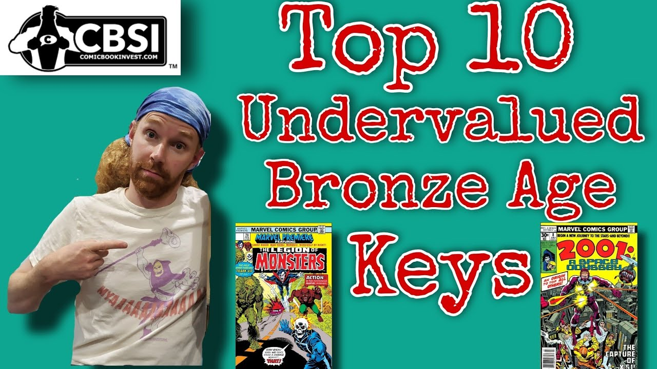 Top 10 Undervalued Bronze Age Marvel Keys by CBSI