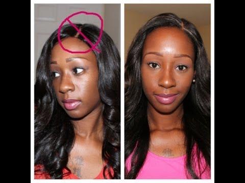 Sew In w/ Lace Closure Braid Pattern | Doovi