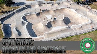 Spot Check: Grindline Skateparks Orcas Island Skatepark // DJ Mavic Air Aerial Tour