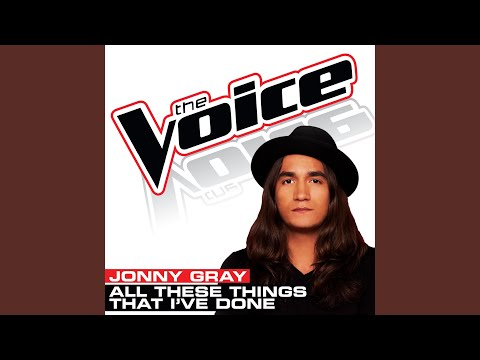 All These Things That I've Done The Voice Performance