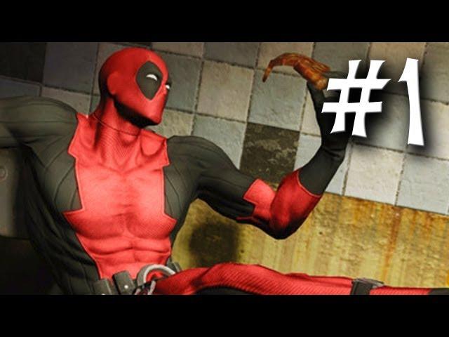 Deadpool Gameplay - Part 1 - Walkthrough Playthrough Let's Play | PewDiePie