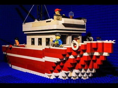 Lego Fishing Trip