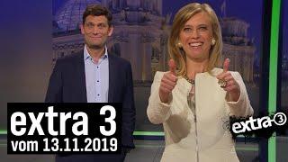 Extra 3 vom 13.11.2019