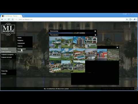ML Architecture Website demo