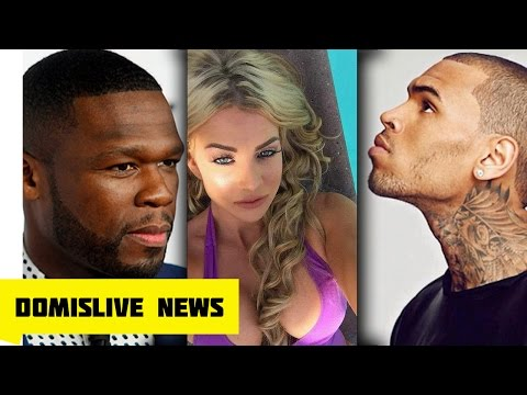 50 Cent Reacts to Chris Brown Getting Arrested Video, Chris Brown Accuser EXPOSED by TMZ