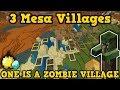 3 Minecraft Villages IN A MINESHAFT?? (PE / Xbox)