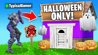 I Went UNDERCOVER in a HALLOWEEN Tournament! (Fortnite)