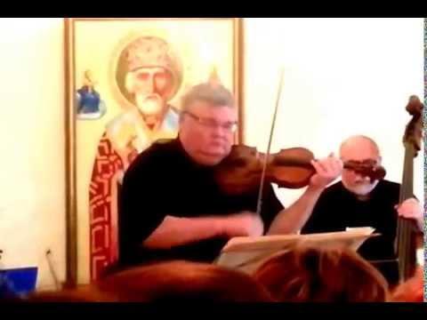 Sergei Stadler performs Vivaldi's Four Seasons at Saint Nicholas Monastery, Jaffa