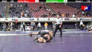 FSN 126: Carlos Sierra (world class) vs. Tom Gettinger (Fayette County Wrestling Club)