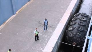 Crew Port Runner Anthem of the Seas Gibraltar September 2015
